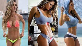 Sports Moments Female Fitness Models