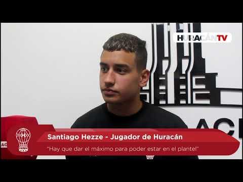 """Hezze: """"El partido ante River es una revancha para nosotros"""""""