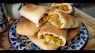 Chicken Samoli Shawarma Recipe - Homemade Shawarma Recipe - Quick Bread Snack  Recipe🔥🔥🔥