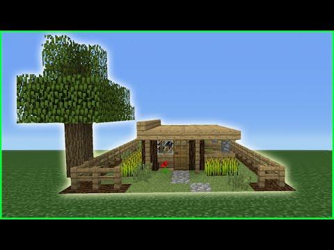 minecraft smallest house