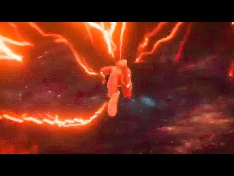 The flash 6x01 - Barry enters in the black hole
