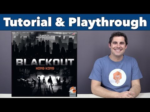 JonGetsGames - Blackout: Hong Kong Tutorial & Playthrough