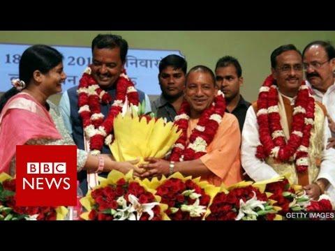 Yogi Adityanath: Priest & politician leading India's most populous state - BBC News