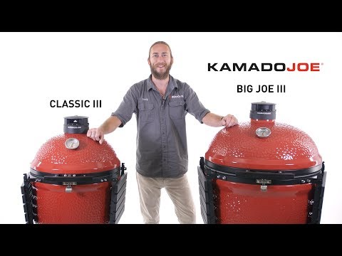Kamado Joe Classic III & Big Joe III Review | BBQGuys