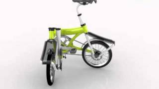 preview picture of video 'Seoul cycle design competition 2010 Coplimentary prize : Folche Bike'