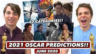 2021 Oscar Predictions | June 2020