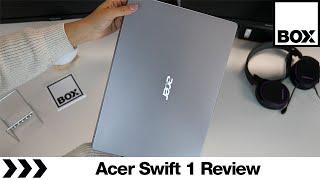 Acer Swift 1 Laptop Review - SF114-32 Intel® Pentium™ Laptop - 256 GB SSD, Silver