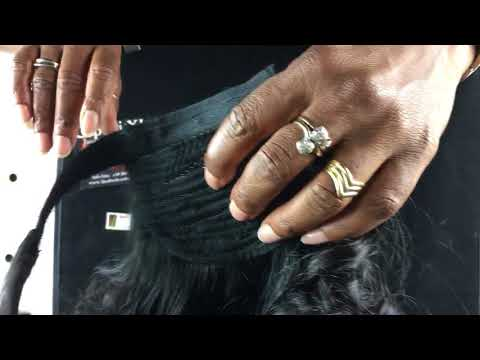 Trattamento di capelli in salone da una perdita di capelli