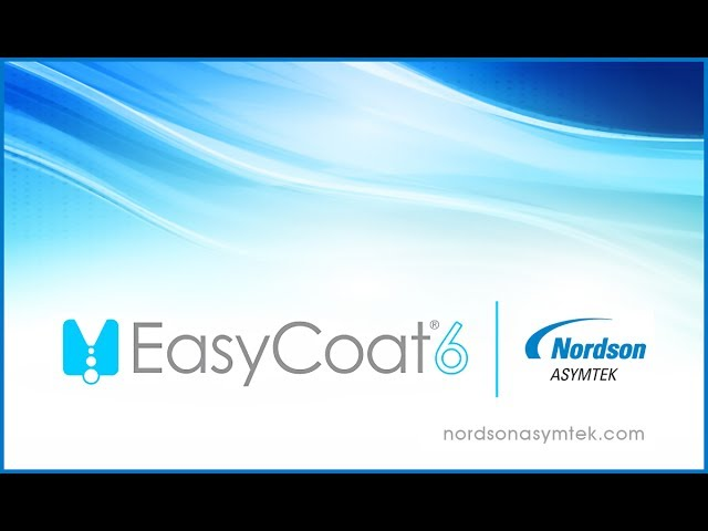EasyCoat 6 Conformal Coating Software from Nordson ASYMTEK