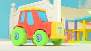 Би-Би Знайки – Буква Т -  мультфильм про машинки – учим алфавит