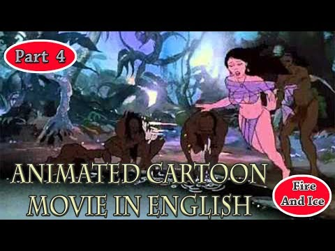 Fire & Ice | Cartoon Movie | In English 1983 | Part 4