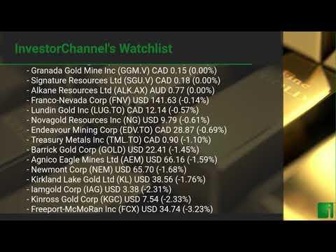 InvestorChannel's Gold Watchlist Update for Thursday, Apri ... Thumbnail