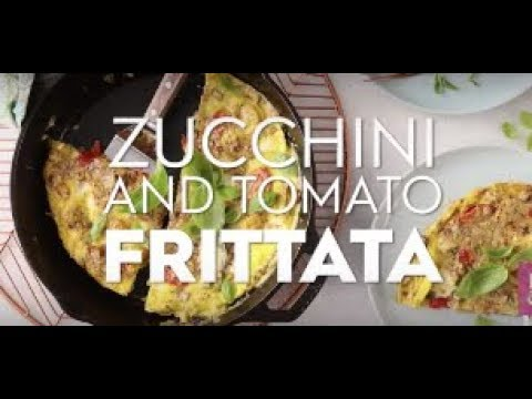 Zucchini and Tomato Frittata | Fast & Fresh | Better Homes & Gardens