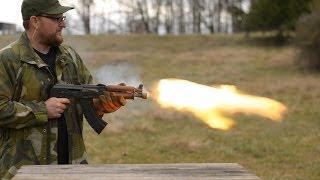 In Memory Of Kalashnikov 700 Round AK Burn