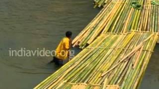 Langai river in Mizoram