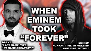 """Eminem """"Sorry If I Took Forever"""" – 2 Great Rappers, 1 Rap God"""