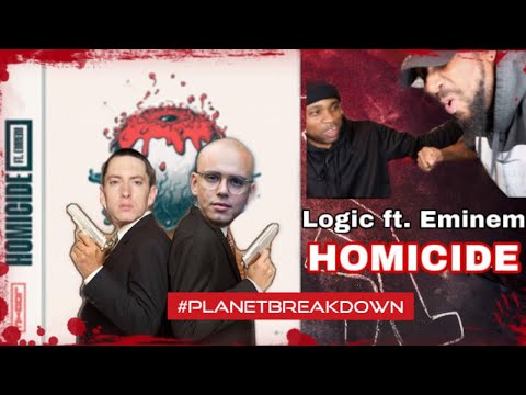 IT WAS A DOUBLE HOMI !! | LOGIC FT EMINEM x HOMICIDE | REACTION | PLANET BREAKDOWN