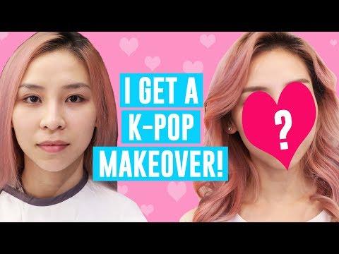 I Get A K-POP Makeover!