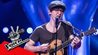 Louis Zingt 'Dew On The Vine' | Blind Audition | The Voice Van Vlaanderen | VTM