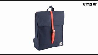 """Рюкзак молодежный Urban K18-908M от компании Интернет-магазин """"Радуга"""" - школьные рюкзаки, канцтовары, творчество - видео"""