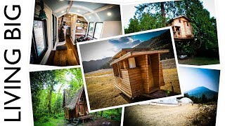 Living Big's Top 5 Tiny House Tours Of 2017 - Video Youtube
