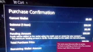 PSN/Account Glitch?