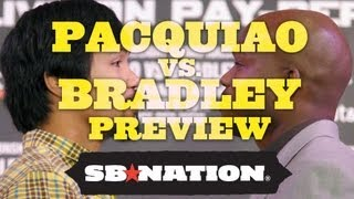 Pacquiao vs. Bradley Fight Prediction, Preview and Schedule thumbnail