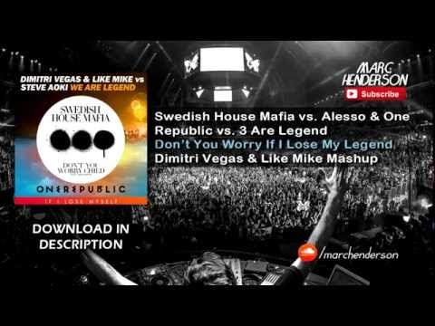 SHM Vs. Alesso & One Republic Vs. 3 Are Legend - Don't You Worry If I Lose My Legend (DV&LM Mashup) Mp3