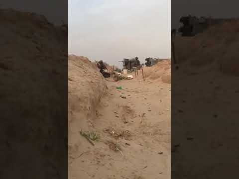 Soldiers of the Nigeria army in live battle with book haram