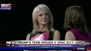 WATCH: KellyAnne Conway Speaks on Motherhood, Feminism and Trump at CPAC 2017