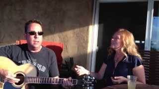 Jezebel by Natalie Merchant performed by Ryan Tracy and Anitra Carr at the Lake - COVER