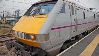 preview picture of video 'East Coast Main Line - Peterborough 15/11/2014'