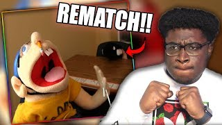 JEFFY FIGHTS HIS BULLY AGAIN! | SML Movie: Jeffy Gets Braces Reaction!