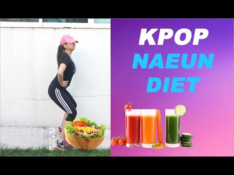 Trying APINK NAEUN's DIET (Kpop Diet) and this is what happened