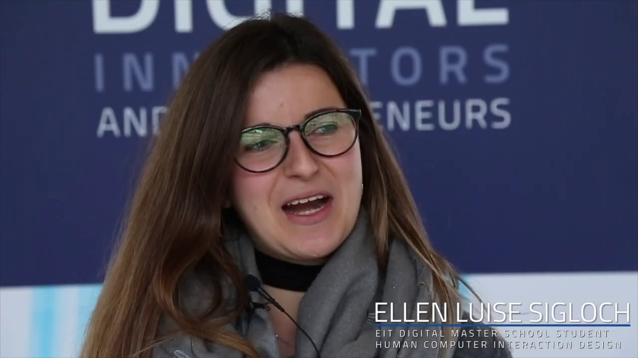 Meet our Master School student Ellen Luise Sigloch