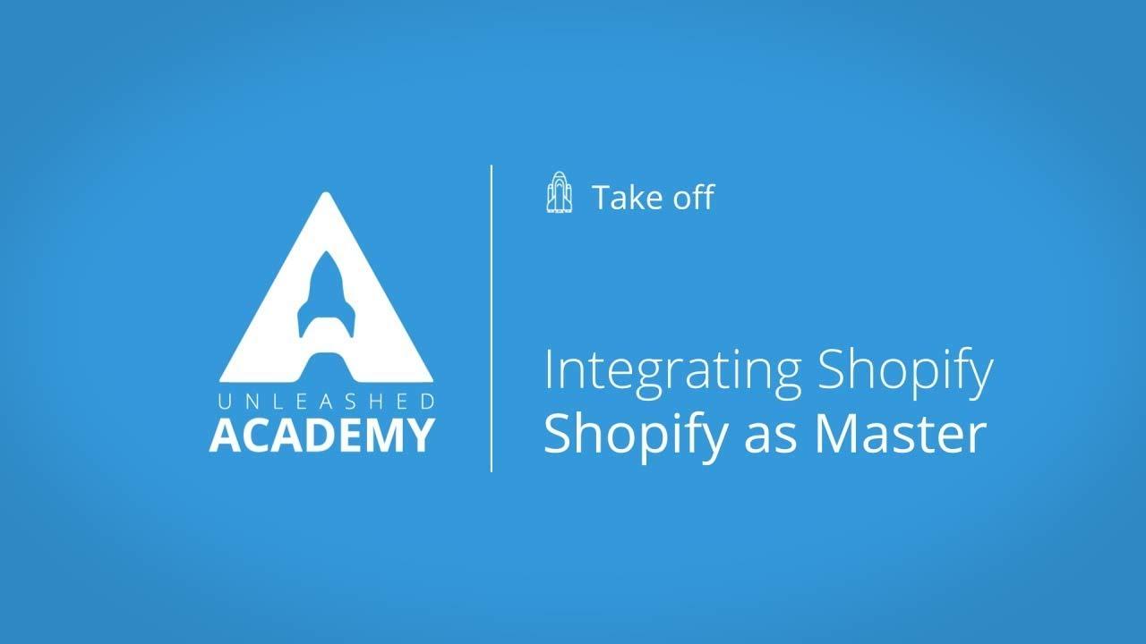 Integrating Shopify - Shopify as Master YouTube thumbnail image