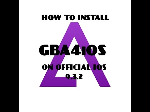 How to Fix Crashing Install GBA4iOS Emulator on iOS 9 3 5 WITHOUT