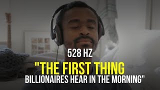 """TRY IT FOR 1 DAY! You Won't Regret It! 528 hz """"I AM"""" Affirmations For Success, Wealth & Happiness"""