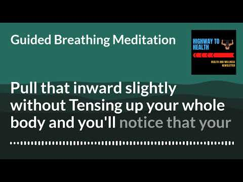 In this video, I'll guide you through a short focused breathing exercise.