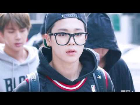 BTS (방탄소년단) - Park Jimin Wearing Glasses