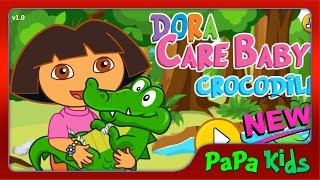Baby Dora Care Baby Crocodile - Dora Dora La Exploradora