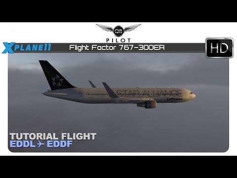 XP11 Amzing Realism! NEW Flight Factor 767 Pro Extended! - смотреть