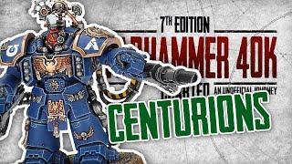 Warhammer 40k Charted: Unit Spotlight - Centurions