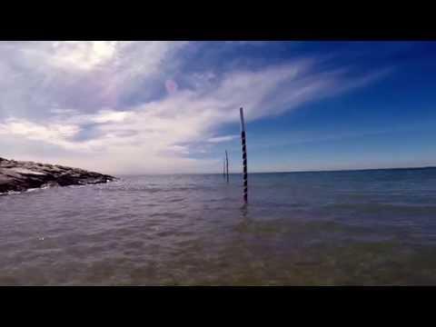 Schnorcheln am Strand vom Camping Union Lido, Cavallino, Italien