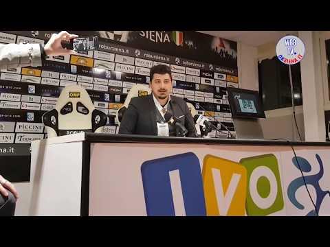 Robur Siena-Pistoia 2-0: Ferrari, Indiani, Mignani, Dossena e Gerli, Trani