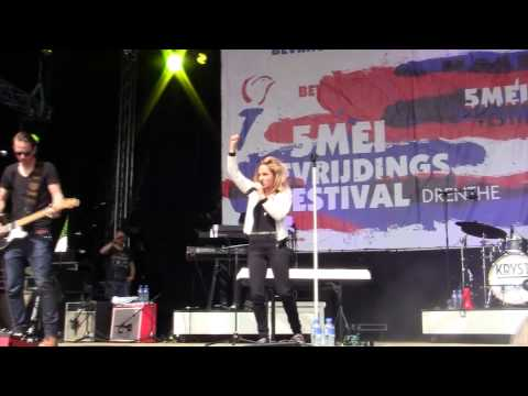 Krystl Circles Bevrijdingsfestival Assen 5 mei 2014