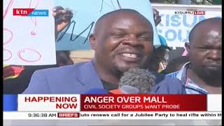 Happening Now: Civil society groups want probe over KSH 4B sunk into Lake Basin Mall