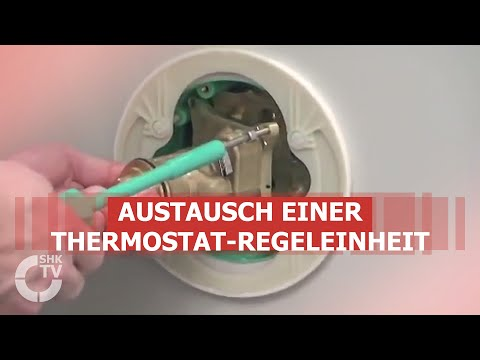 Hansgrohe Techniktipp: Austausch Thermostat-Regeleinheit