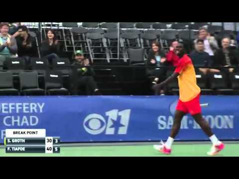 Tiafoe Fake And Bake Dallas Challenger Hot Shot 2016