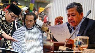 Komentar Fahri Hamzah saat Jokowi Pangkas Rambut di Garut, Singgung soal Pencitraan